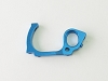 PN Racing Mini-Z V5 LCG Motor Mount Left Side Plate (Blue)