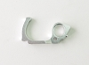 PN Racing Mini-Z V5 LCG Motor Mount Left Side Plate (Silver)