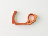 PN Racing Mini-Z V5 LCG Motor Mount Left Side Plate (Orange)