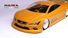 Marka Mini-Z RK-SP6 Racing Lexan Body Kit (98mm W/B)