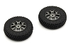 Kyosho Mini-Z 4x4 MX01 Premounted Tire/Wheel 2pcs Suzuki Jimny
