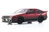 Kyosho Mini-Z AWD Toyota AE86 Aero Carbon Red/Black Body Set