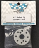 Robinson Racing Thin Super Spur 73T Precision Machined 64P