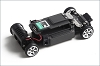 Kyosho dNaNo LANCIA DELTA HF INTEGRALE EVOL Chassis Set without Body