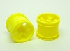 PN Racing Mini-Z Buggy Monster Wheel Yellow (2pcs)