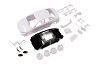 Kyosho Mini-Z Mitsubishi LANCER EVO X White body set (with AWD Wheel)