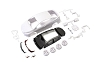 Kyosho Mini-Z Toyota PRIUS PHV White body set (w/Wheels)
