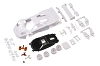 Kyosho Mini-Z McLaren F1 GTR White body set (w/Rim for RWD)