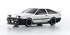 Kyosho Mini-Z ASC MA-020 Toyota Sprinter Trueno GTV AE86 White Body Set