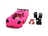 TRP Mini-Z MR02/MR03W MM Mosler MT900 Body Set (Acid Pink hand painted)