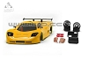 TRP Mini-Z MR02/MR03W MM Mosler MT900 Body Set (Solid Yellow hand painted)