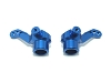 PN Racing ZX5 TF5 Alloy Front Knuckle Set (Blue)