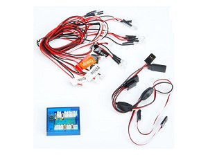 HP-MDL Lights - Car with Signal Mix - LED
