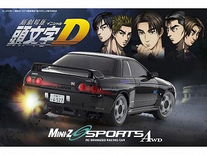 Kyosho Mini-Z MA020SN INITIAL D RS NISSAN GT-R R32 Ready Set