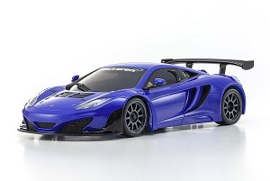 Kyosho Mini-Z ASC MR03W MM McLaren 12C GT3 2013 Mattic Blue Body Set