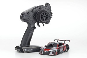 Kyosho Mini-Z MR03 RWD Audi R8 LMS 2016 Grey/Red Ready Set