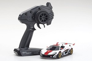 Kyosho Mini-Z MR03 RWD McLaren P1 GTR White/Red Ready Set