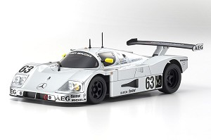 Kyosho Mini-Z MR03W LM ASC Sauber-Mercedes C9 No. 63 LM 1989 Body Set