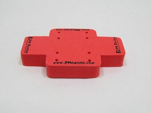 PN Racing Mini Car Foam Stand (Orange)