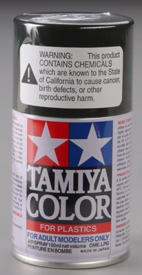 Tamiya PS-5 Black Lexan Spray Paint (3oz)