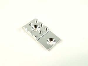 PN Racing PNR2.5W Chassis Alloy RM MM T-Bar Mount (Silver)