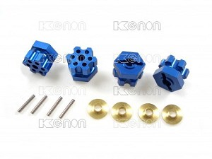 AMMO RC18T Touring Wheel Adaptor - Blue