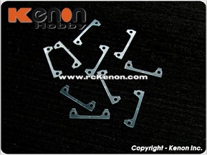 PN Racing 0.3mm Plastic Shims (10pcs) for Interchangeable Front Body Mount