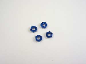 AMMO Mini Inferno Wheel Hub Adaptor (Blue)