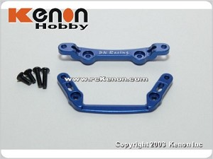 PN Racing Mini-Z MR02 Alm Front Tower Bar Set (MR015) Blue