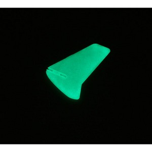 E-flite MCX Vertical Fin, Glow in the Dark w/o Decals