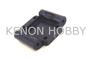 Hot Racing Micro-T Alum. Rear Arm Mount 1deg Toe-in ( blue )