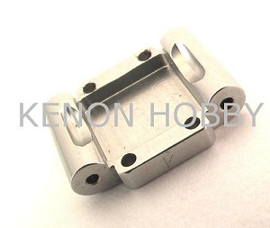 Hot Racing Micro-T Alum. Rear Arm Mount 1deg Toe-in ( silver )