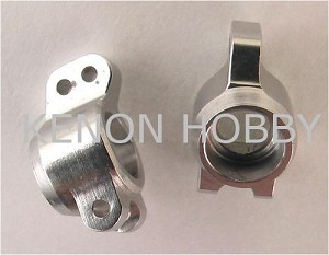 Hot Racing Micro-T Alum. Rear Knuckles Set ( silver )
