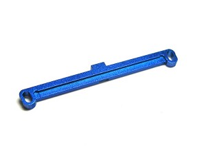 GPM Mini-Z F1 Alloy Steering Plate Toe Out 2 Deg (Blue)