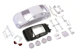 Kyosho SUBARU WRX STI White Body Set (w/Wheel)
