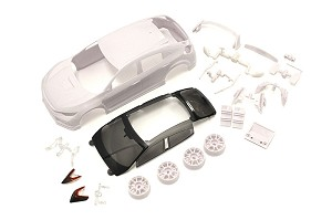 Kyosho Mini-Z Honda CIVIC White body set (w/Wheel)