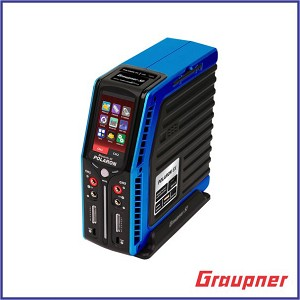 "Graupner Polaron EX 800W 7S 3"" Color and Touch TFT (Blue)"