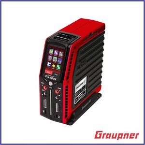 "Graupner Polaron EX 800W 7S 3"" Color and Touch TFT (Red)"