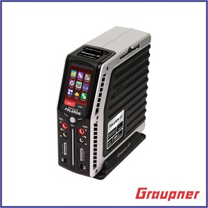 "Graupner Polaron EX 800W 7S 3"" Color and Touch TFT (Sliver)"