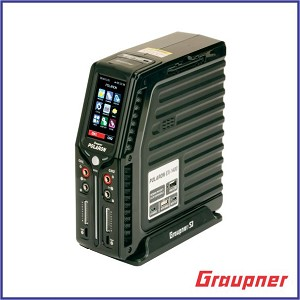 "Graupner Polaron EX 1400W 8S 3"" Color and Touch TFT (Black)"