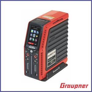 "Graupner Polaron EX 1400W 8S 3"" Color and Touch TFT (Red)"
