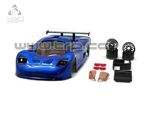TRP Mini-Z MR02/MR03W MM Mosler MT900 Body Set (Metal Blue hand painted)