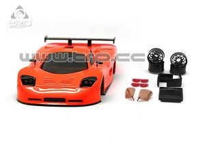 TRP Mini-Z MR02/MR03W MM Mosler MT900 Body Set (Coral hand painted)