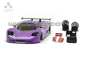 TRP Mini-Z MR02/MR03W MM Mosler MT900 Body Set (Lila Purple hand painted)