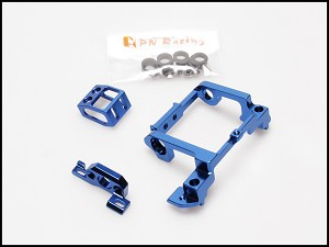 PN Racing Mini-Z F1 Pro LCG Motor Mount (Blue)