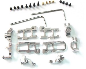 Hot Racing Silver Alum. Suspension Set Mini-Z Buggy