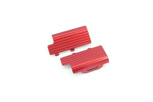 Kyosho mini-Z Buggy MB010 Aluminum Battery Heatsink (Red)