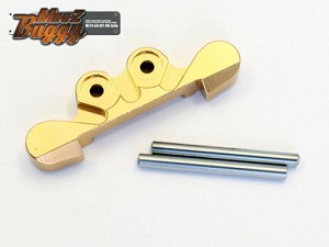 Kyosho Mini-Z Buggy MB-010 Aluminum Front Suspension Mount (Gold)