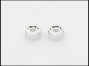 PN Racing MR02/03 Disk Damper Screw Washer (Sliver) 2pcs