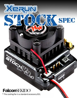 Hobbywing XERUN STOCK Spec ESC - Black Edition